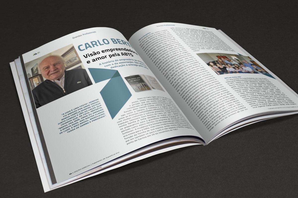 Carlo Berti, visão empreendedora e amor pela ABTS