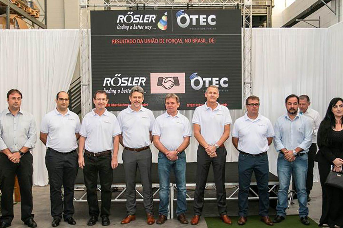 A Rösler-Otec inaugura uma nova unidade no país