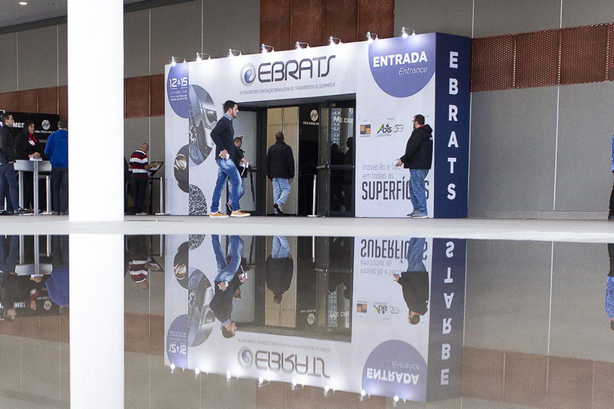 Estandes do EBRATS 2020 já estão disponíveis