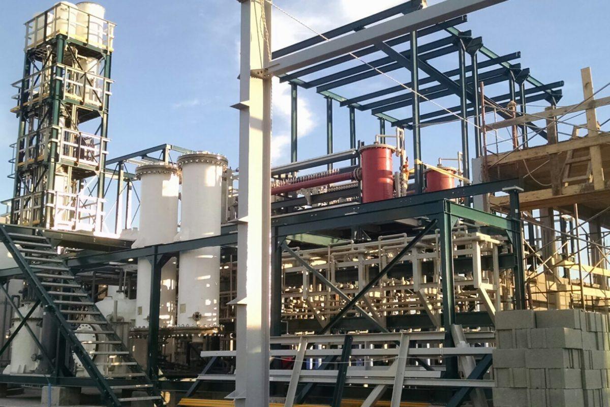 Empresa é pioneira na fabricação de cloro in loco