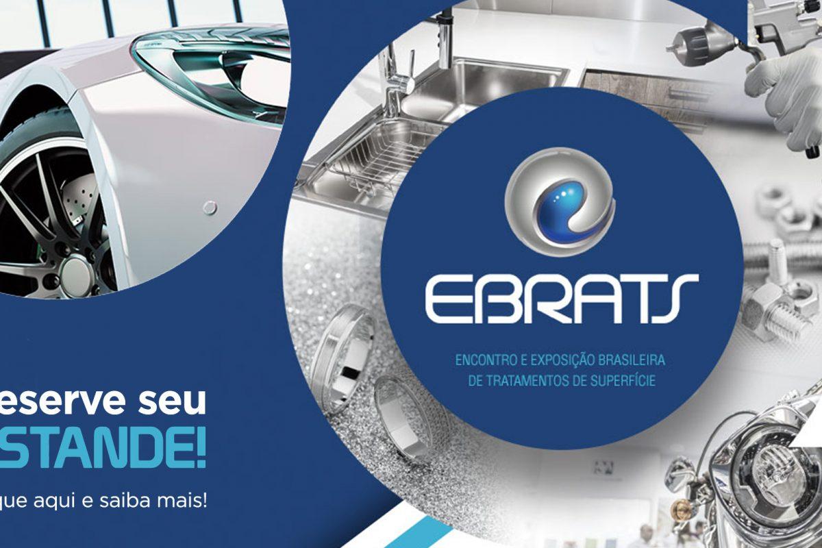 Reserve já o seu estande! EBRATS 2020