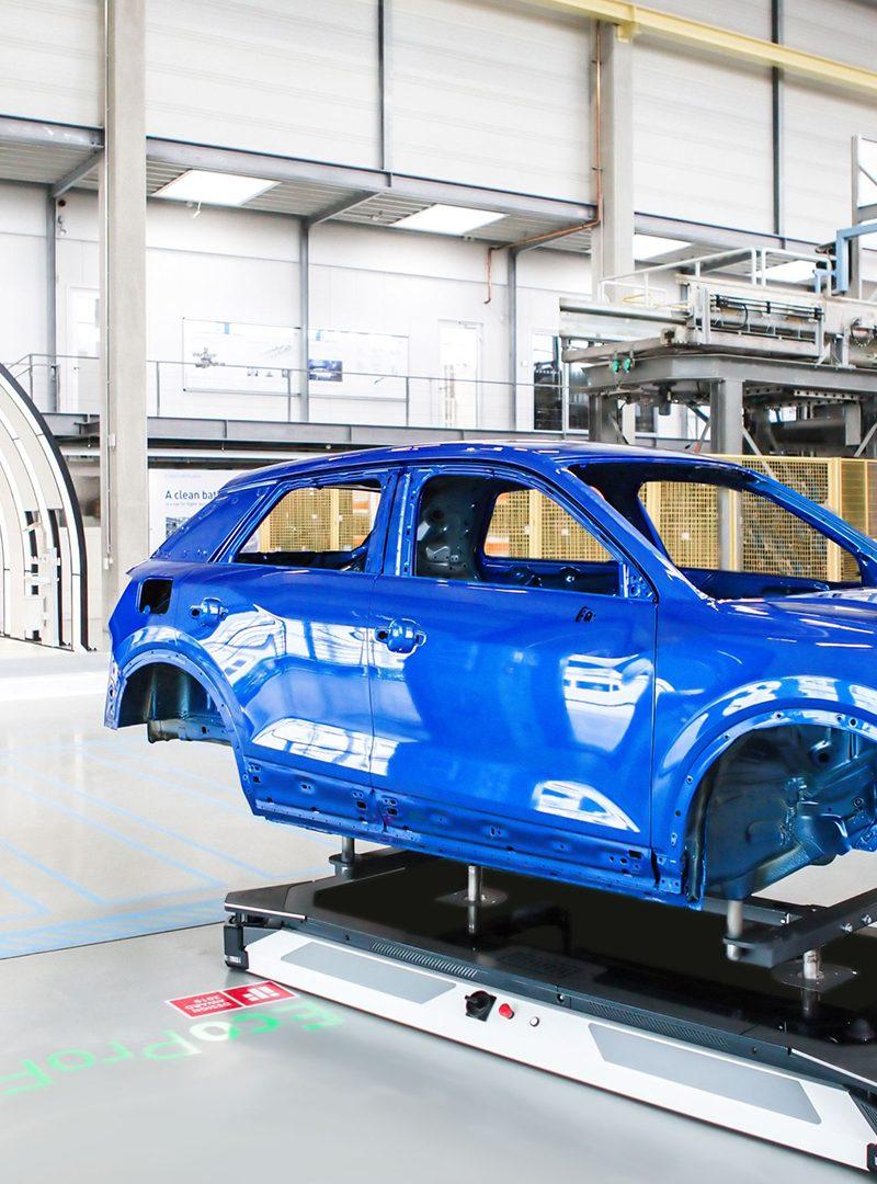 Robos da Dürr irão abastecer a fábrica da GM na Coreia