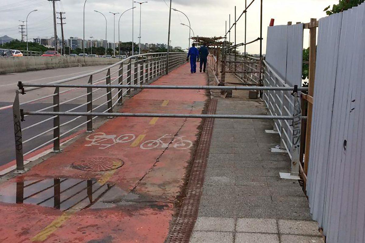 Prefeitura utilizará vigas metálicas galvanizadas em Ciclovia