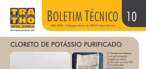 Boletim Técnico TRATHO - 10 - Abril 20 - Cloreto de Potássio Purificado