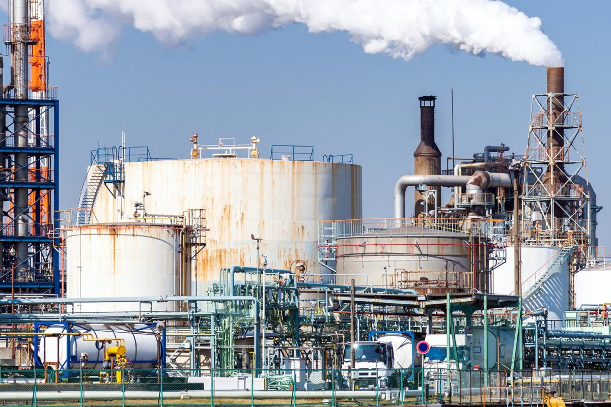 Produção da indústria química cai em 2019