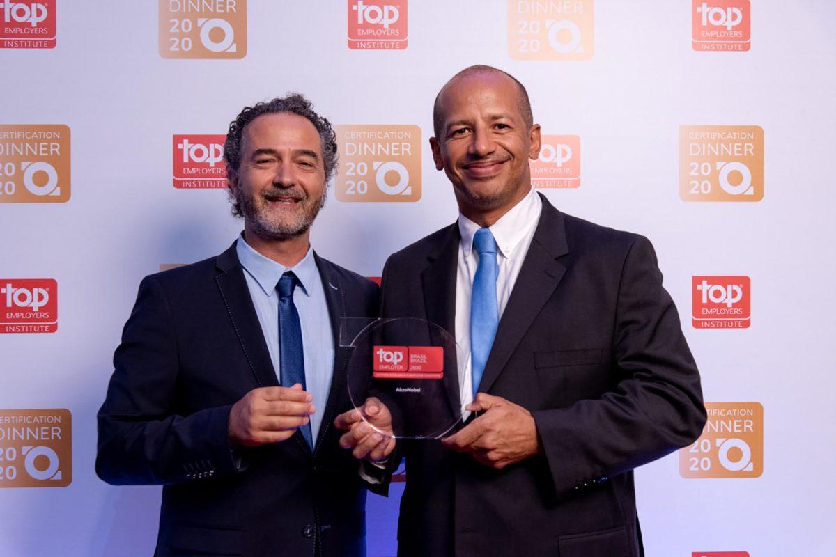 AkzoNobel recebe certificação Top Employers pela quarta vez