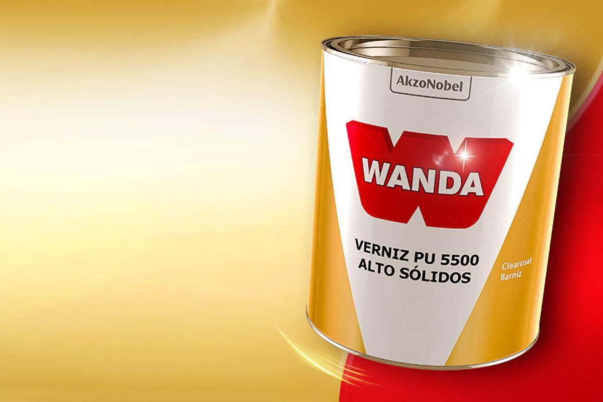 Tintas Wanda lança Verniz PU 5500