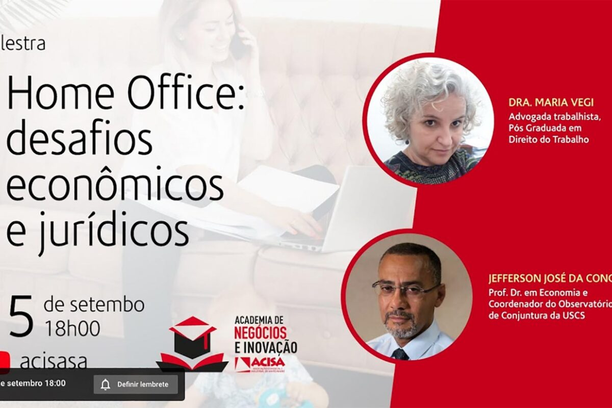 Palestra aborda questões jurídicas do home-office